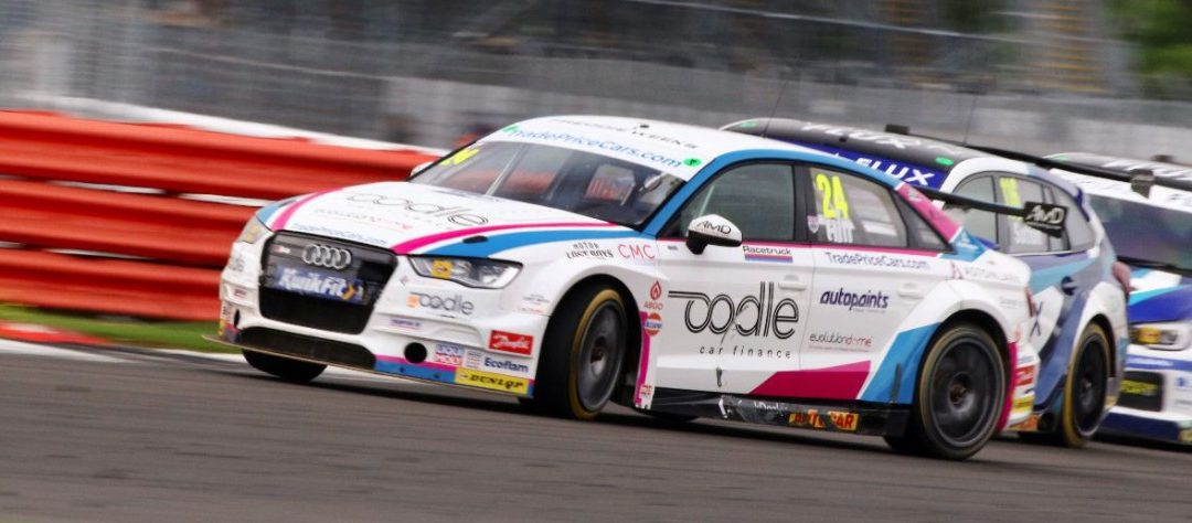 DOUBLE POINTS FINISH IN TOUGH CONDITIONS FOR TRADE PRICE CARS RACING AT SILVERSTONE