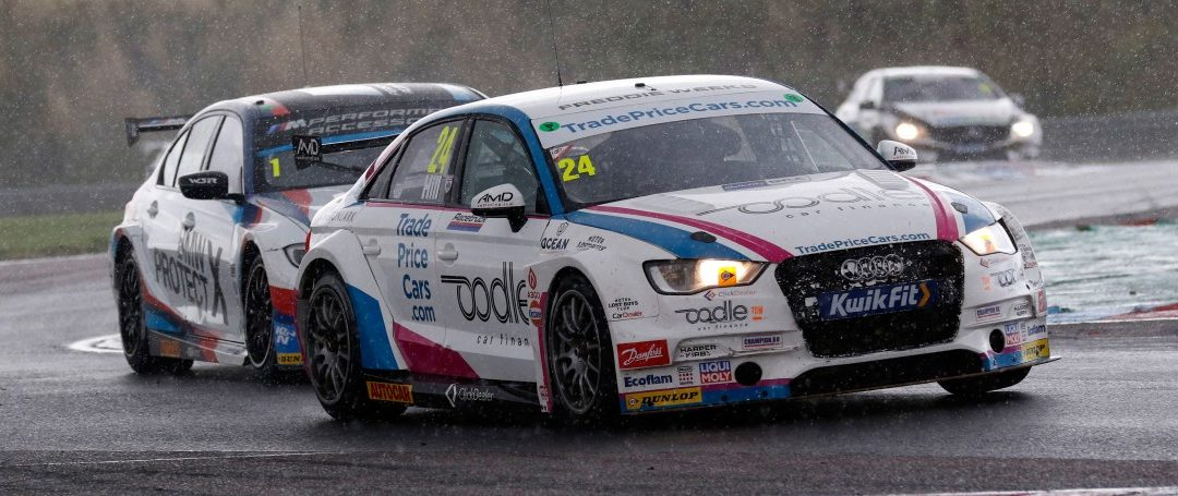TRADE PRICE CARS RACING'S HILL SLITHERS TO SUPERB POINTS SCORING FINISHES IN BTCC THRUXTON BATTLE