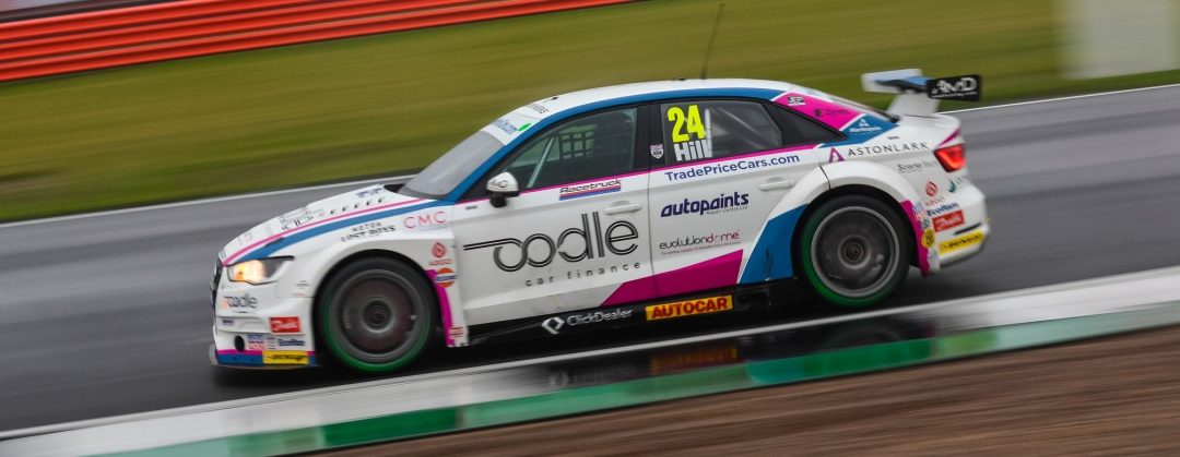 HILL SPLASHES TO MORE BTCC POINTS AT SILVERSTONE