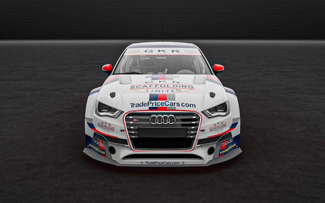 Trade Price Cars Racing welcome GKR Scaffolding as title sponsor