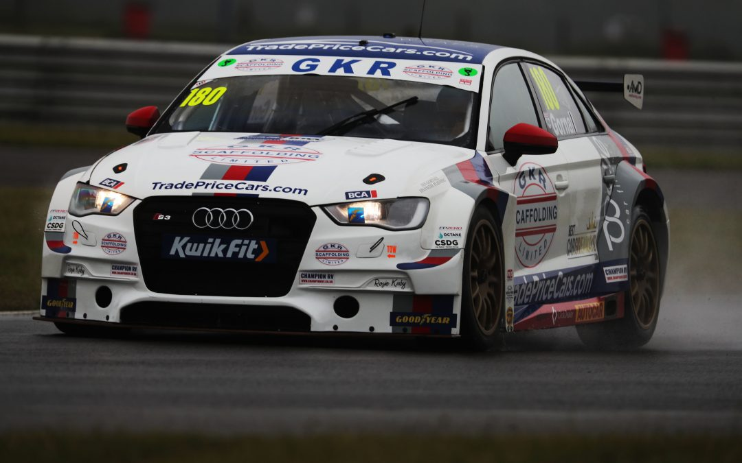 STRONG POINTS THE AIM FOR GKR TRADEPRICECARS.COM AT DONINGTON PARK