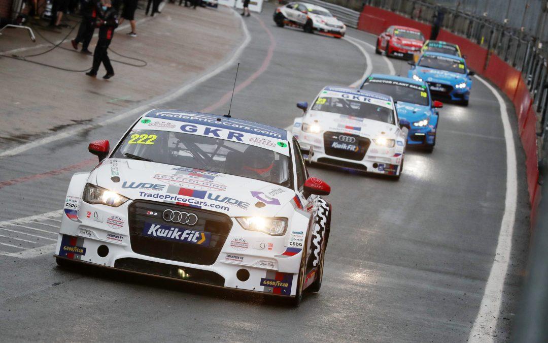 GKR TradePriceCars.com battles the elements for Brands Hatch points